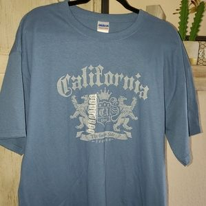 California Tshirt BRAND NEW